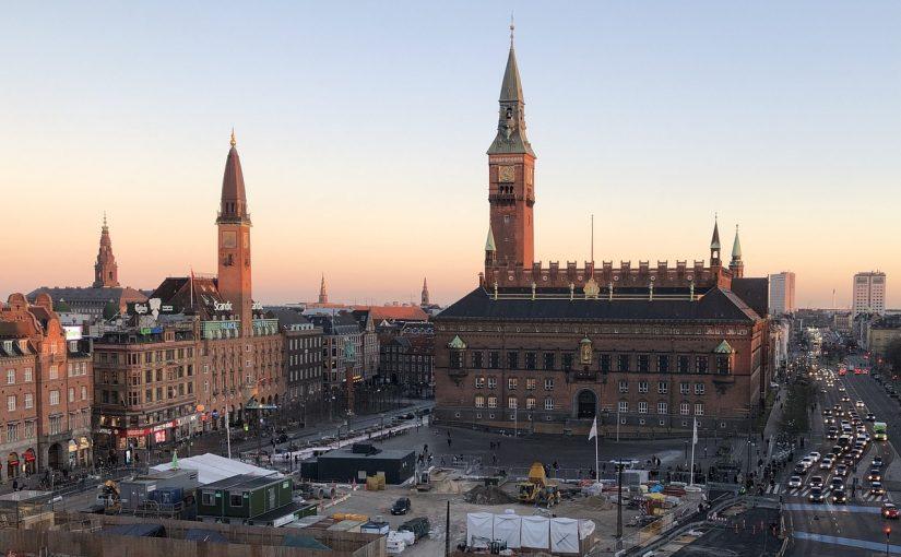 Se København fra luften